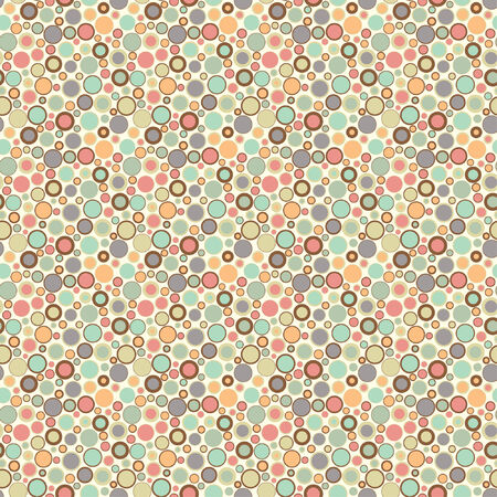 tiled: one pattern in abstract style Illustration