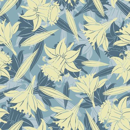 flores color pastel: flores en colores pastel en el patr�n de flores