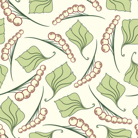sepal: floral pattern in modern style