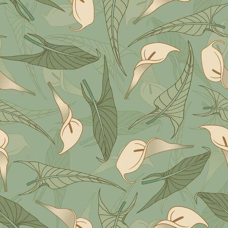 calla pattern in modern style