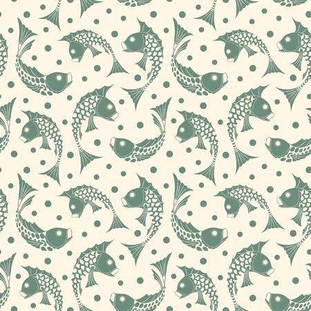 fish pattern in modern style