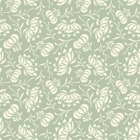 sparce: floral pattern in modern style