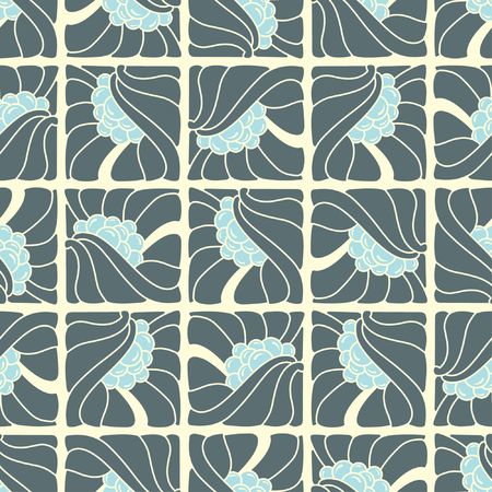 abstract pattern in modern style Vector