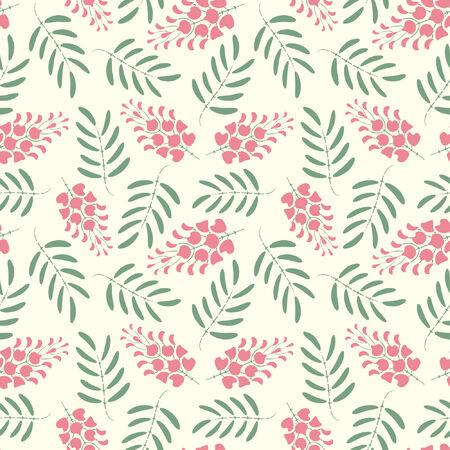 effortless: one pattern in modern style Illustration