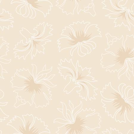 effortless: claveles patr�n en estilo floral