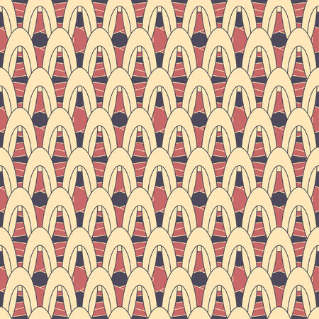 constructivism: lattice pattern in abstract style