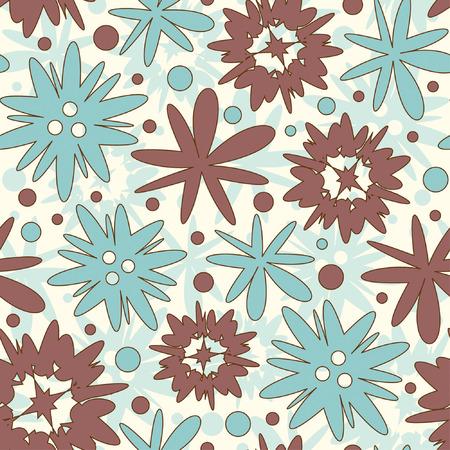 effortless: patr�n de flores de color brillante para los ni�os Vectores