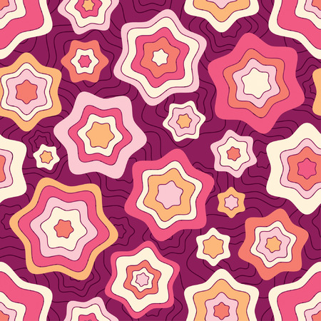sparce: stars pattern in abstract style