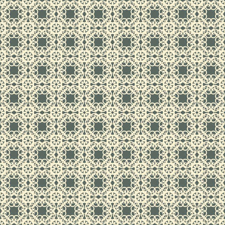abstract floral lattice in pattern Vector