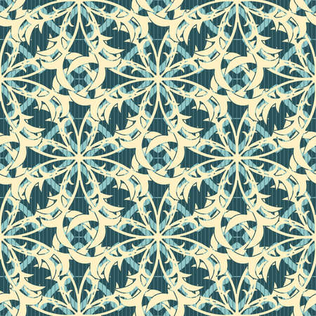 floral lattice pattern in modern style Stock Vector - 6604864