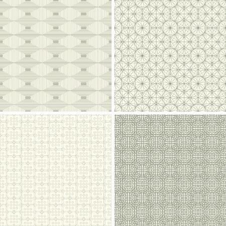 lattice frame: abstract lattice patterns in set