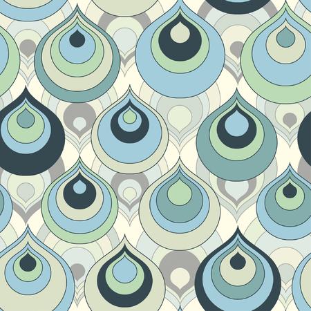 gocce di colore: gocce di colore nel modello astratto