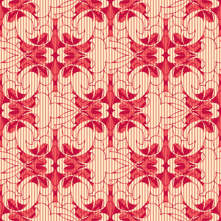 lattice frame: abstract pattern in modern style