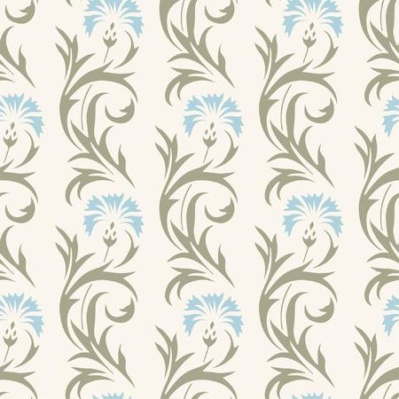 claveles: patr�n floral en estilo moderno