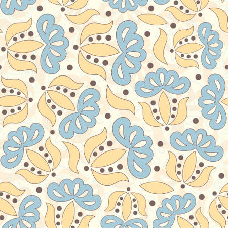 bright flowers pattern for children Vector