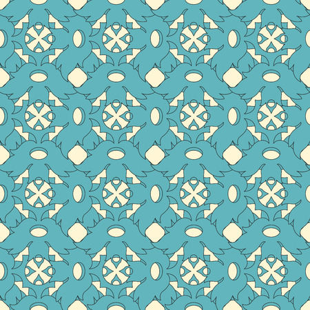 nuvo: lattice from leaves in art nuvo style Illustration