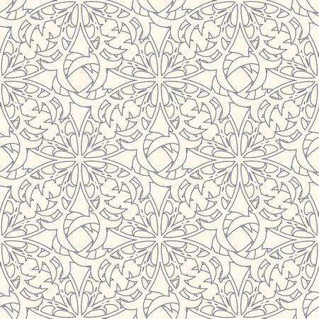sepal: floral lattice in modern style Illustration