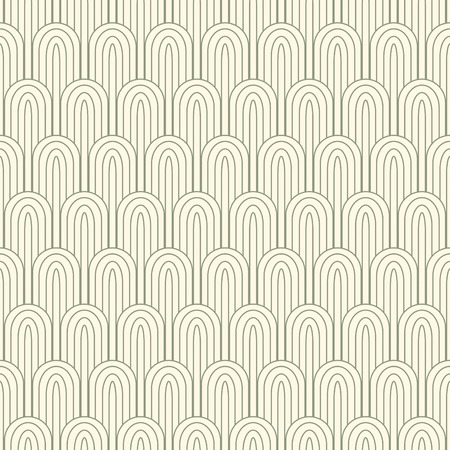 elipse: striped pattern in art nuvo style