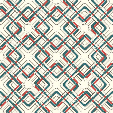 lattice: abstract lattice on a white background in seamless pattern