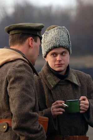 Soldier 1918 photo