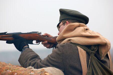 reenacting: Soldier 1918