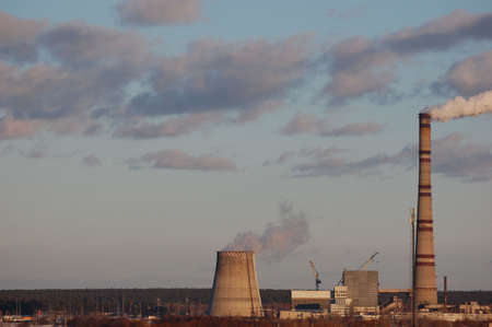 power plant Stock Photo - 2576546