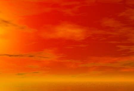 Sunset. Background photo