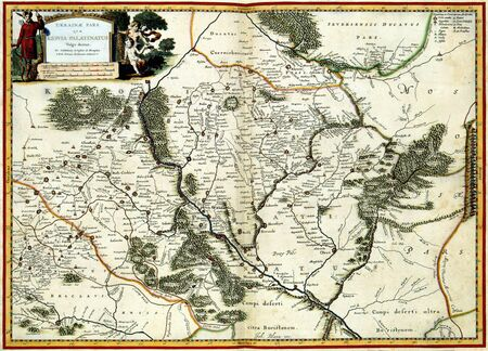 Medieval map of Europe Stock Photo - 2957029