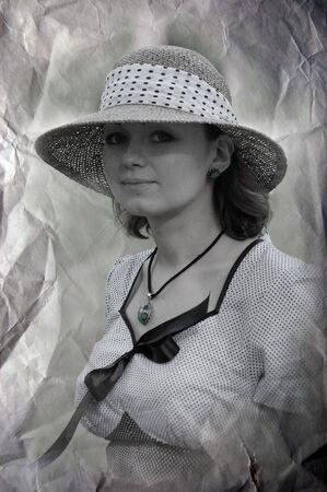 reenacting: Retro moda. 1941. WW2 dispositivo ri -