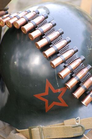 Soviet ammunition. WW2 time photo