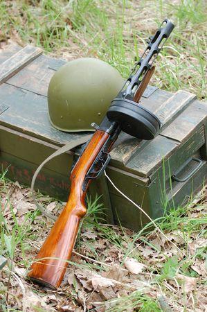 Soviet weapon. WW2 time photo