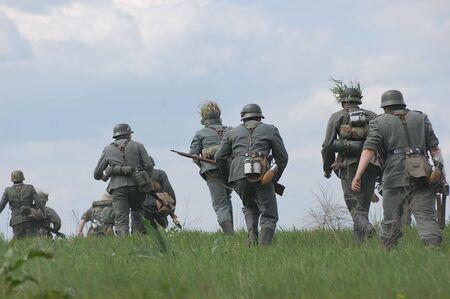 Deutsche Soldaten. Ww2 reenacting