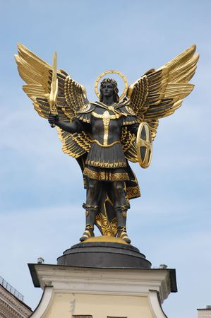 Angel of Kiev Stock Photo - 3116492