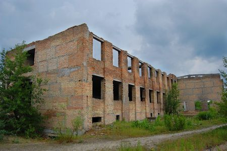 chernobyl: Modern ruins. Chernobyl area