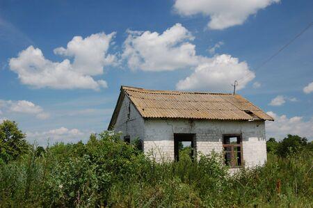 Abandoned farm. Near Chernobyl area.  Kiev region, Ukraine Stock Photo - 3274108