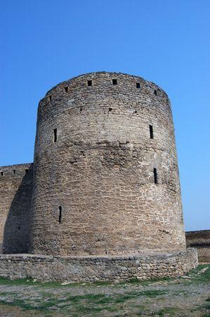 Medieval citadel near Odessa, Ukraine, Belgorod Dnestrovsky. Odessa region Stock Photo - 3499231