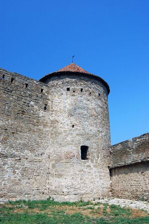 Medieval citadel near Odessa, Ukraine, Belgorod Dnestrovsky. Odessa region Stock Photo - 3499233
