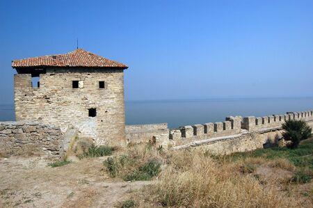 Medieval citadel near Odessa, Ukraine, Belgorod Dnestrovsky. Odessa region photo