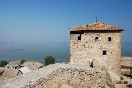 Medieval citadel near Odessa, Ukraine, Belgorod Dnestrovsky. Odessa region Stock Photo - 3499192