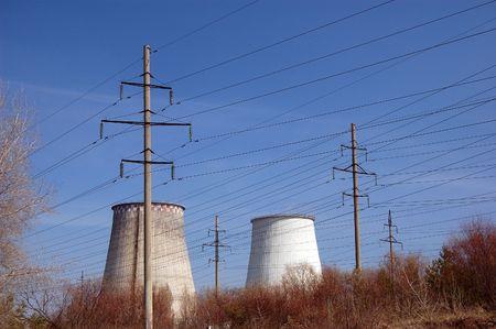 Power plant. Kiev, Malorussia (Ukraine) photo