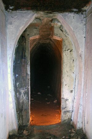 Underground citadel.Part of Kiev defense line in WW2 time. Stock Photo - 5333783