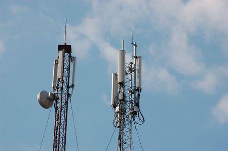 Cellular Transmitter in Kiev,Ukraine Stock Photo - 5333789