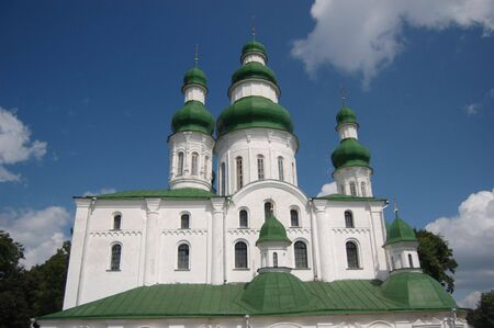 Old Russian orthodox cathedral in historical Russian town Chernigov,Ukraine Stock Photo - 5376549