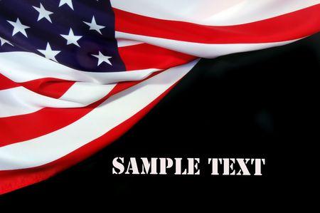 American Flag  Stock Photo - 7503396