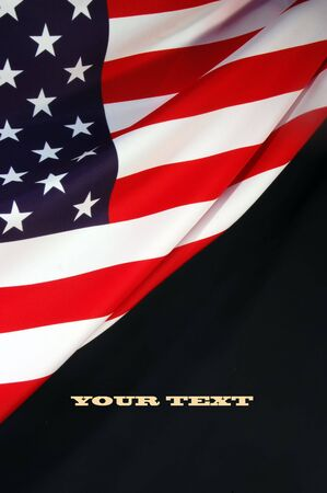 american flags: Bandera estadounidense