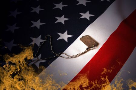 memorials: Freedom is not free  Stock Photo