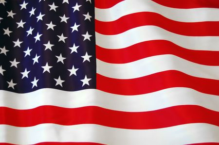 American Flag as background for Clip-Art  Stock Photo - 7515682
