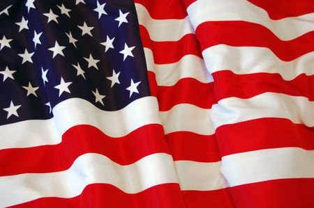 American Flag as background for Clip-Art  Stock Photo - 7515680