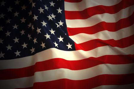 american flag waving: American Flag