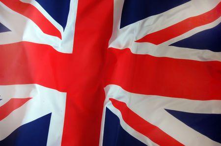 bandera de irlanda: Bandera brit�nica  Foto de archivo